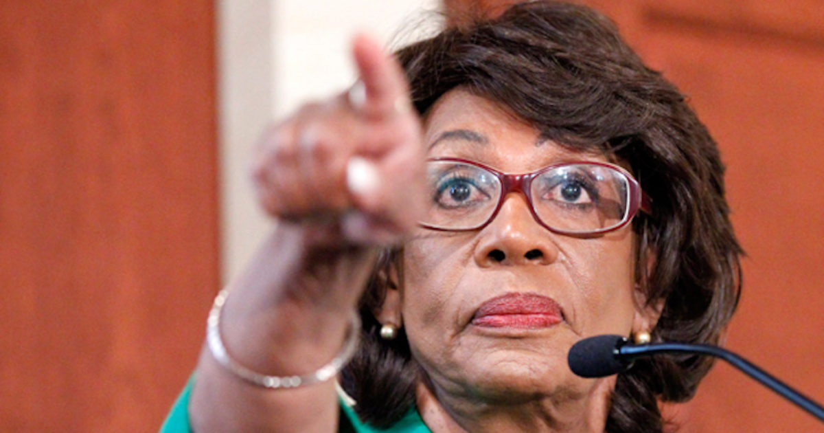 Americans Applauding After Maxine Waters Destroys Donald With One Simple Statement