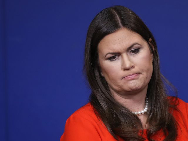 Sarah Huckabee Sanders Fears For Her Job After Learning Trump Is Sick Of Her