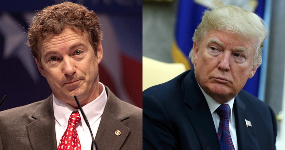Arch-Conservative Sen. Rand Paul Is Opposing Trump's Picks for CIA Director and Secretary of State [VIDEO]